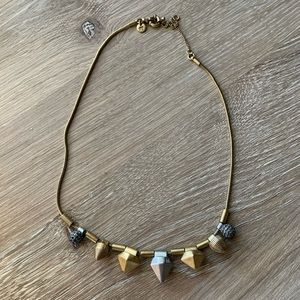 Madewell Mixed Metal Necklace
